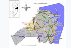 Howell NJ map